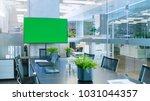 modern empty meeting room with... | Shutterstock . vector #1031044357