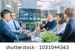 board of directors has annual... | Shutterstock . vector #1031044363