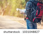 close up of a young man... | Shutterstock . vector #1031048827