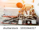 air freight services or...   Shutterstock . vector #1031066317