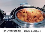 Small photo of Broasted chicken for buffet breakfast delicious food
