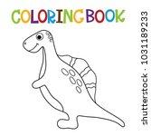 cute dino coloring book.   Shutterstock .eps vector #1031189233
