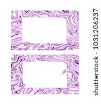 vector business card with... | Shutterstock .eps vector #1031206237