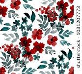 watercolor seamless pattern...   Shutterstock . vector #1031207773