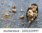 breakfast flat lay  vintage...   Shutterstock . vector #1031223997