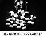 pills in capsules | Shutterstock . vector #1031229457