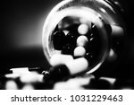 pills in capsules | Shutterstock . vector #1031229463