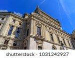 national opera paris... | Shutterstock . vector #1031242927