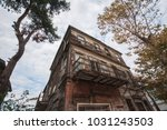 traditional wooden mansion in... | Shutterstock . vector #1031243503