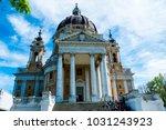 basilica of superga  turin ... | Shutterstock . vector #1031243923