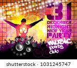 dancing people  background... | Shutterstock .eps vector #1031245747