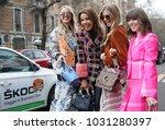 milan  italy   february 22 ...   Shutterstock . vector #1031280397