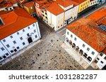 koper  slovenia. central square ... | Shutterstock . vector #1031282287