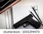 gun control legislation and... | Shutterstock . vector #1031294473