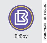 bitbay finance. virtual...   Shutterstock .eps vector #1031407687