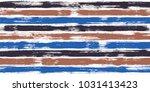 creative watercolor brush... | Shutterstock .eps vector #1031413423