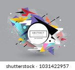 abstract geometric pattern...   Shutterstock .eps vector #1031422957