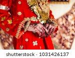 beautiful henna for palembang... | Shutterstock . vector #1031426137