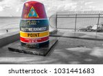 buoy of southernmost point in... | Shutterstock . vector #1031441683