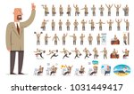 businessman or manager... | Shutterstock .eps vector #1031449417
