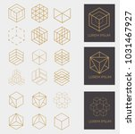 collection of 18 icons and 3... | Shutterstock .eps vector #1031467927