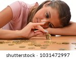 young brunette women collecting ...   Shutterstock . vector #1031472997