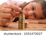 young brunette women collecting ...   Shutterstock . vector #1031473027
