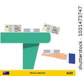 investing money.  australian...   Shutterstock .eps vector #1031473747