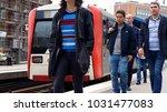 hamburg  germany   circa 2017 ... | Shutterstock . vector #1031477083
