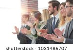 blurred image of business team...   Shutterstock . vector #1031486707