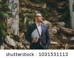young successful smart... | Shutterstock . vector #1031531113