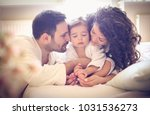 mommy and daddy need to massage ... | Shutterstock . vector #1031536273