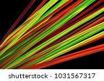lot of cocktail colorful tubes... | Shutterstock . vector #1031567317