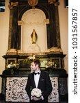 wedding ceremony. wedding... | Shutterstock . vector #1031567857