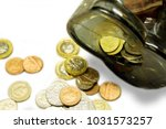 top view and crop of british... | Shutterstock . vector #1031573257