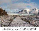 travellers walking at... | Shutterstock . vector #1031579203