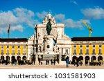 lisbon  portugal.  february 11  ... | Shutterstock . vector #1031581903