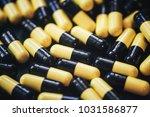 pills in capsules | Shutterstock . vector #1031586877