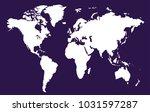 world map vector.   Shutterstock .eps vector #1031597287