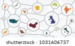 vector illustration of... | Shutterstock .eps vector #1031606737