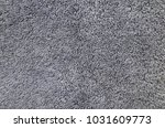 a grey cotton towel... | Shutterstock . vector #1031609773