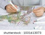 master plan of urban landscape... | Shutterstock . vector #1031613073