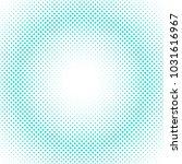 retro abstract halftone dot... | Shutterstock .eps vector #1031616967