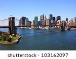 Brooklyn Bridge And Lower...