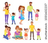 vector cartoon style... | Shutterstock .eps vector #1031632237