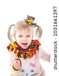 cute baby jubilates  for german ... | Shutterstock . vector #1031661397