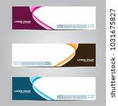 vector design banner... | Shutterstock .eps vector #1031675827
