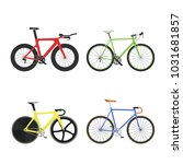 set of four sports  racing ... | Shutterstock .eps vector #1031681857