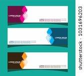 vector design banner... | Shutterstock .eps vector #1031696203