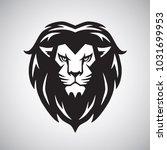 lion head logo vector...   Shutterstock .eps vector #1031699953